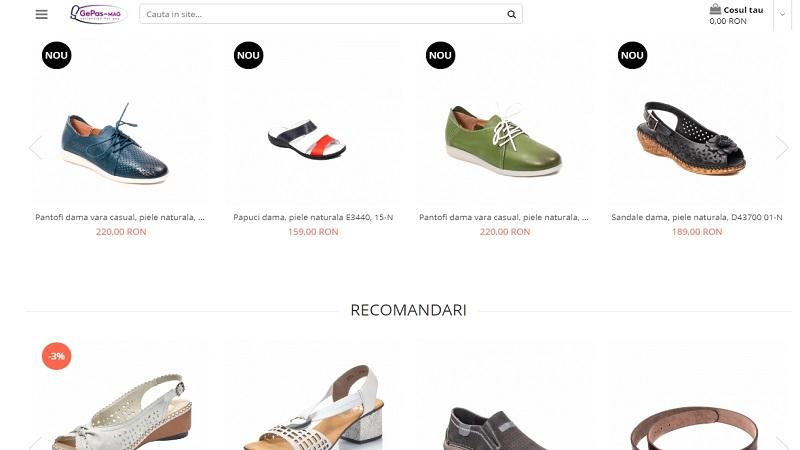 gepas shoes magazin incaltaminte