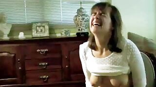 Ultra Sexy Milf Wife Riding Sybian While Hubby Films